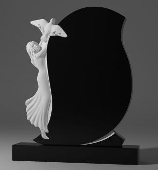 Памятник Девушка с голубем