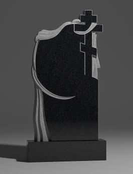 Памятник Крест православный и ткань