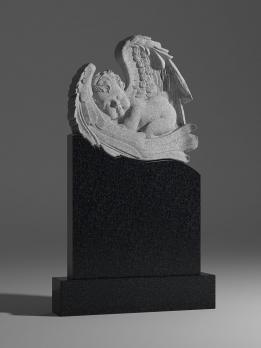 Памятник спящий ангел