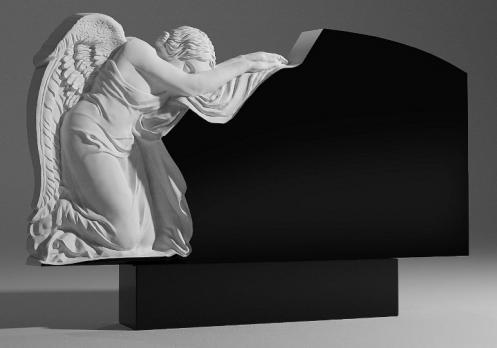 Памятник Ангел на коленях